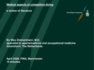 Medical aspects of springboard diving