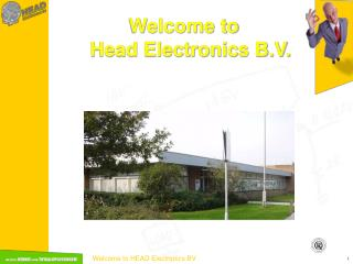 Welcome to  Head Electronics B.V.