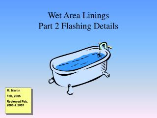 Wet Area Linings Part 2 Flashing Details