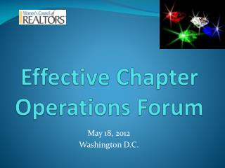 Effective Chapter Operations Forum