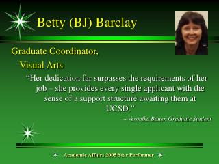 Betty (BJ) Barclay