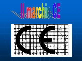 Il marchio CE