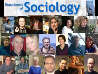 The Department of Sociology offers two degree programmes: BA Hons in Sociology