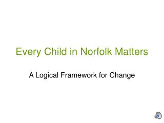 Every Child in Norfolk Matters