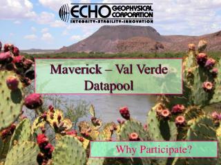 Maverick – Val Verde Datapool
