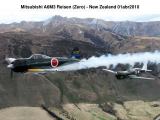Mitsubishi A6M3 Reisen (Zero) - New Zealand 01abr2010