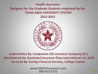 Underwritten By: Companion Life Insurance Company (A+)