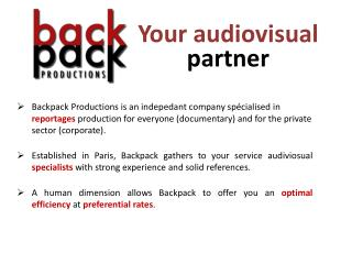 Your audiovisual  partner