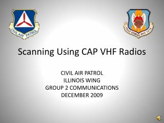 Scanning Using CAP VHF Radios