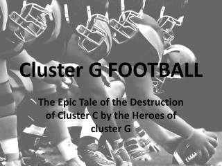 Cluster G FOOTBALL