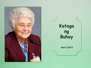 Kataga ng Buhay Abril 2014