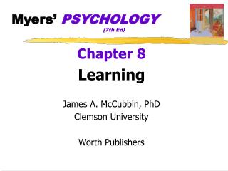 Myers�  PSYCHOLOGY (7th Ed)