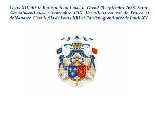 Dans son enfance, LouisXIVéchappe à plusieurs reprises à la mort: