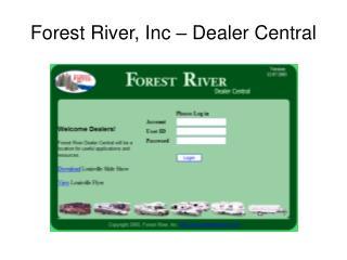 Forest River, Inc – Dealer Central