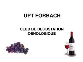 UPT FORBACH