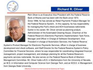 Richard R. Oliver