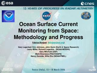 Ocean Surface Current Monitoring from Space: Methodology and Progress