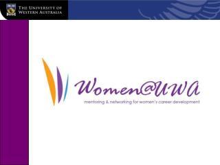 Women @ UWA
