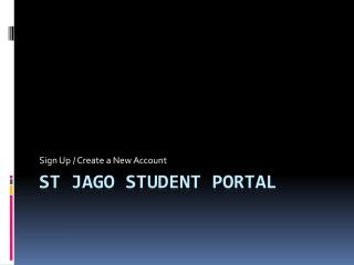 St  Jago  Student Portal