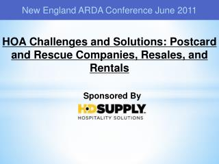 New England ARDA Conference June 2011