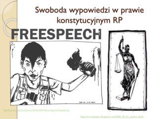 Swoboda wypowiedzi w prawie konstytucyjnym RP