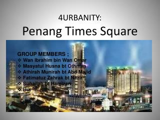 4URBANITY:  Penang Times Square