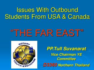 Issues With Outbound Students From USA & Canada