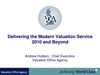 Delivering the Modern Valuation Service 2010 and Beyond
