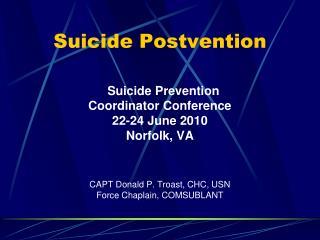 Suicide Postvention