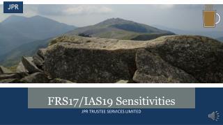 FRS17/IAS19 Sensitivities