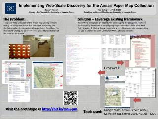 Implementing Web-Scale Discovery for the Ansari Paper Map Collection