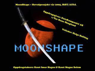 MoonShape – Hovedprosjekt vår 2005, HiST/AITeL