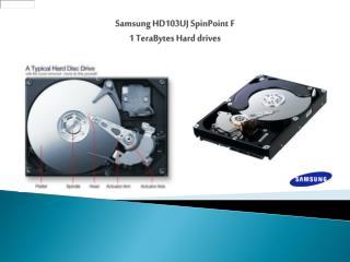 Samsung HD103UJ  SpinPoint  F  1  TeraBytes  Hard drives