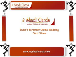 Hindu Wedding Invitations – MyShadiCards.com