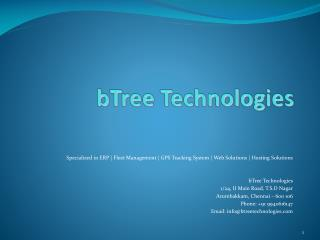 bTree Technologies