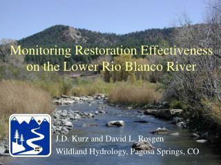 Monitoring Restoration Effectiveness on the Lower Rio Blanco River