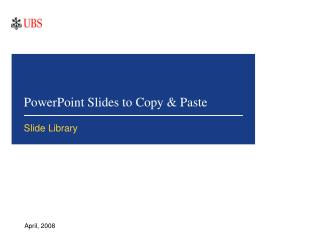 PowerPoint Slides to Copy & Paste