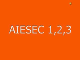AIESEC 1,2,3