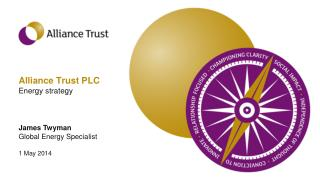 Alliance Trust PLC Energy strategy