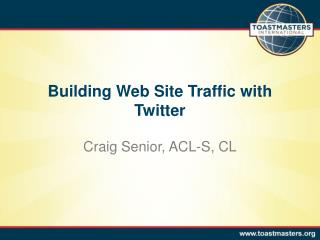 Building Web Site Traffic with Twitter
