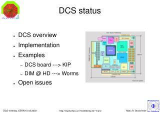 DCS status