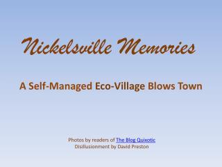 Nickelsville Memories