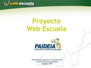 Proyecto Web Escuela