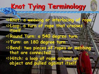 Knot Tying Terminology