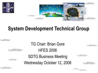 System Development Technical Group
