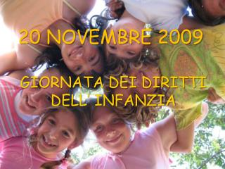 20 NOVEMBRE 2009