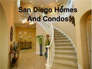 Get Real Estate Services at San Diego Homes And Condos