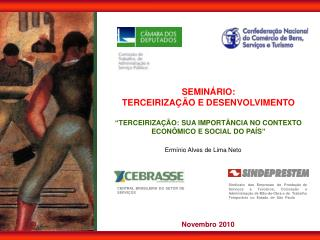 SEMINÁRIO: TERCEIRIZAÇÃO E DESENVOLVIMENTO