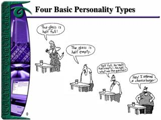 Four Basic Personality Types