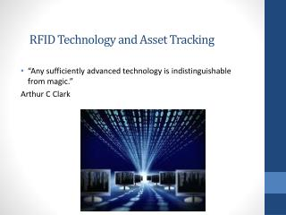 RFID Technology and Asset Tracking